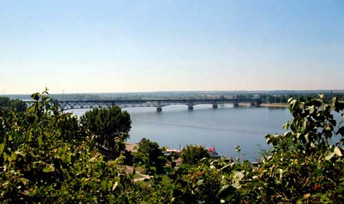 Vistula bridge at Plock